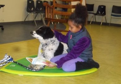 """Program – Pet Therapy Program- After school """"Read to Cash"""""""
