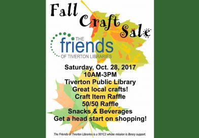 Craft Sale -Saturday October 28th from 10am – 3pm