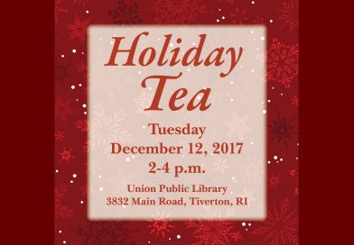 Holiday Tea at Union Library