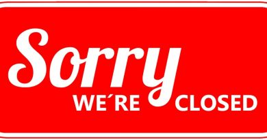 Closing 3pm on January 19th